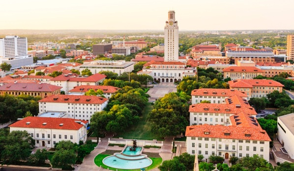 Picture of the University of Texas - Austin Campus - Go Longhorns!