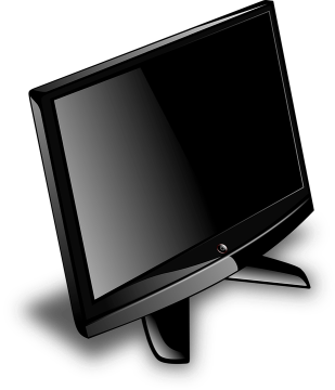 Picture of a flat screen television